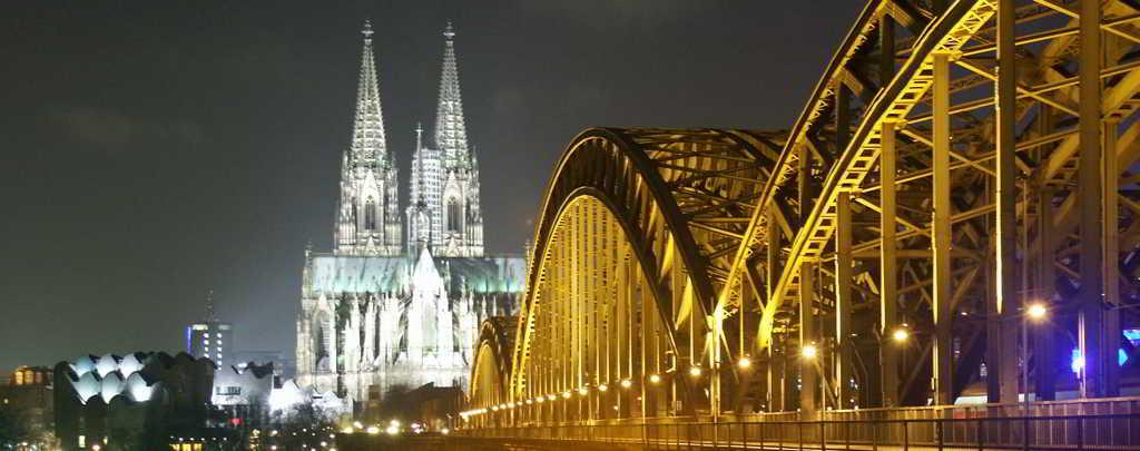 Die wohl bekannteste Brücke Kölns